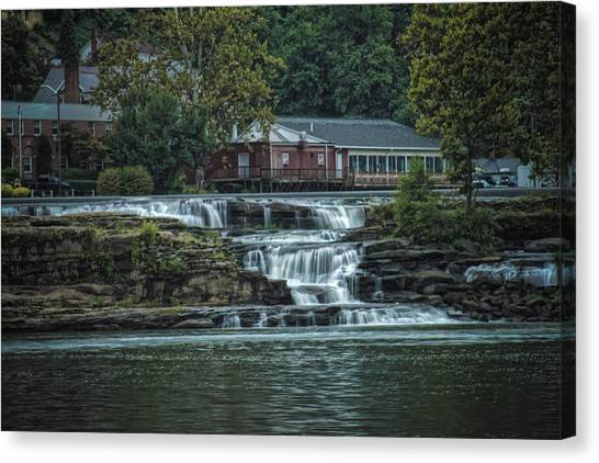 Glen Farris On The Falls Canvas Print