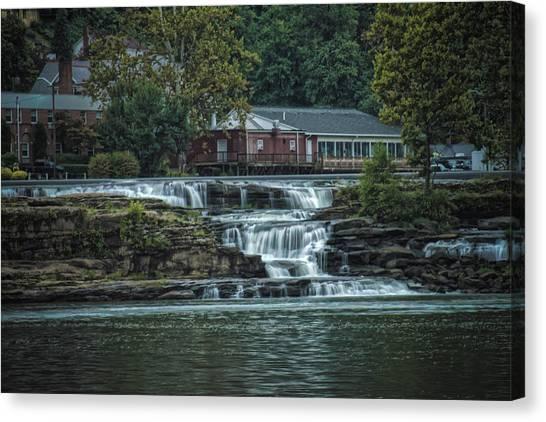 Glen Farris On The Falls Canvas Print