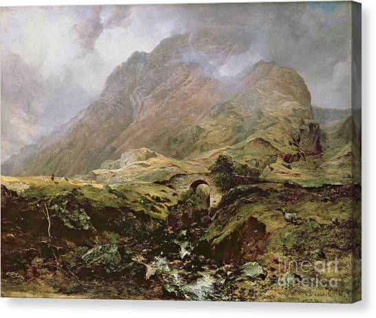 Scotch Canvas Print - Glencoe by Horatio McCulloch
