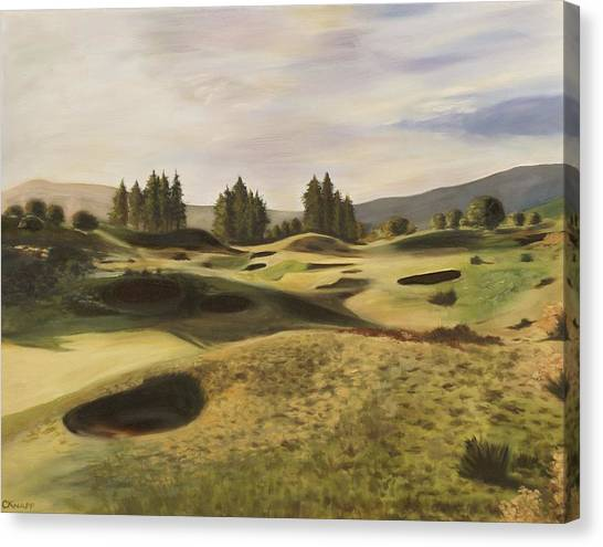 Gleneagles Kings Course Canvas Print
