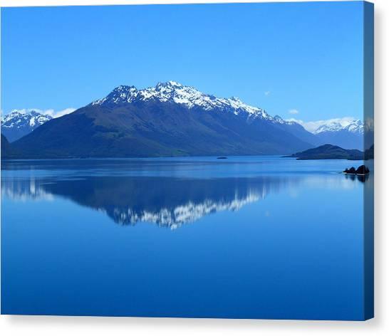 Glenorchy Road New Zealand Canvas Print