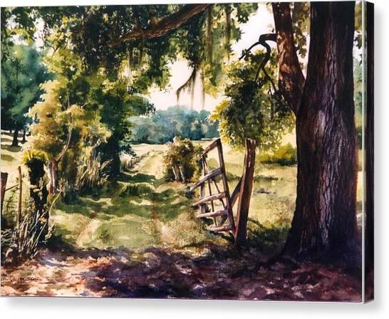 Glen's Pasture Canvas Print by Marion  Hylton