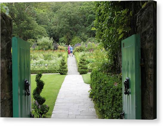Glenveagh Castle Gardens 4272 Canvas Print