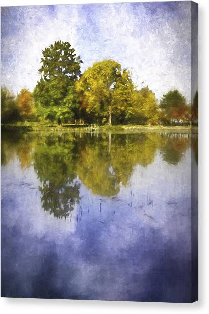 Impression Canvas Print - Glenview Impressions by Scott Norris