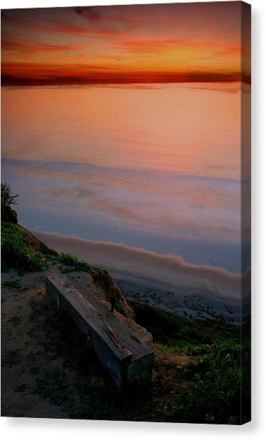 Gliderport Sunset 2 Canvas Print
