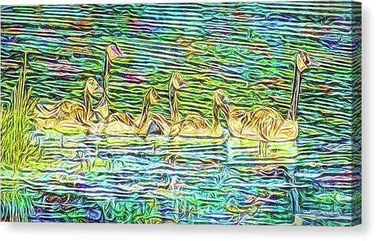 Gliding Forward Canvas Print by Joel Bruce Wallach