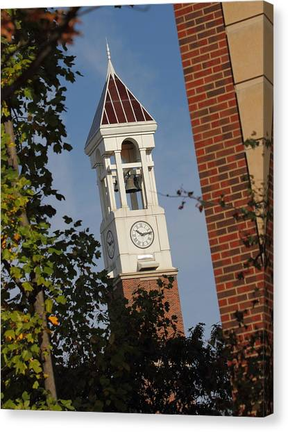 Glimpse Of The Bell Tower Canvas Print