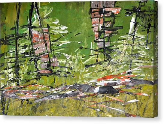 Glimpses Canvas Print
