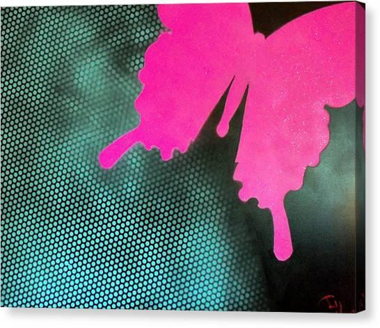 Glitter Canvas Print by Trenton Heckman