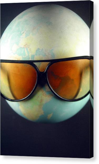Global Warming Canvas Print by Jez C Self