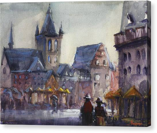 German Canvas Print - Gloomy Day  by Kristina Vardazaryan