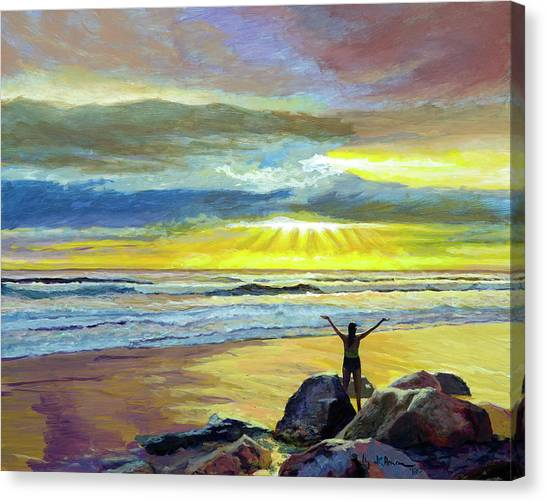 Glorious Day Canvas Print