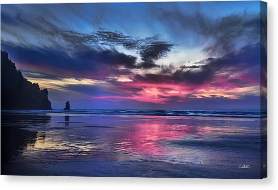 Glorious Glow Canvas Print