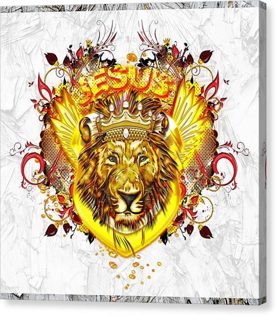Glorious Jesus Canvas Print
