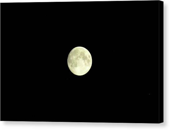 Glorious Moon  Canvas Print