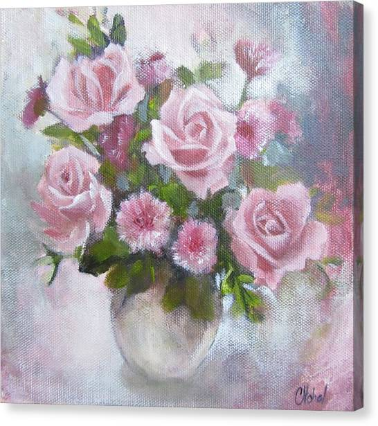 Glorious Roses Canvas Print