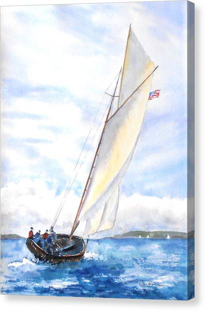 Glorious Sail Canvas Print