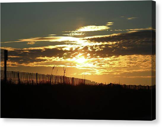 Glorious Sunset Canvas Print