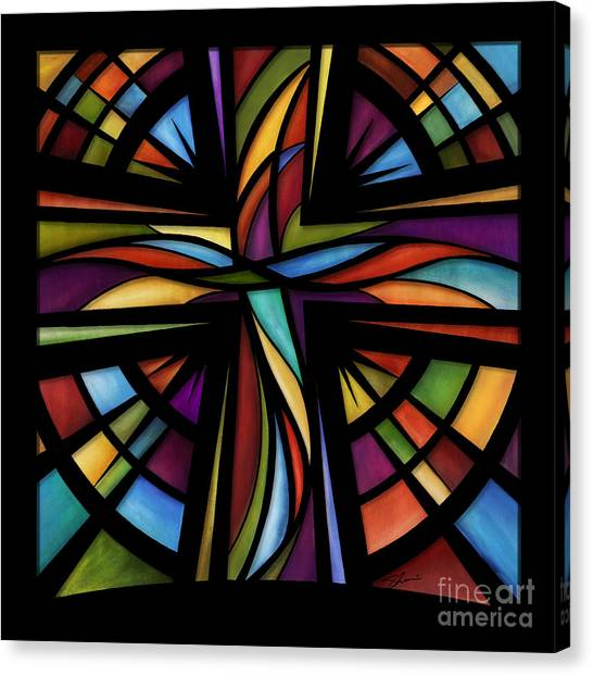 Bible Verses Canvas Print - Glory To God by Shevon Johnson