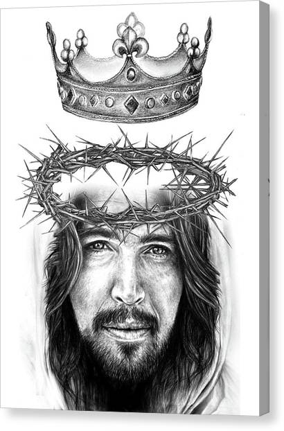 Glory To The King Canvas Print