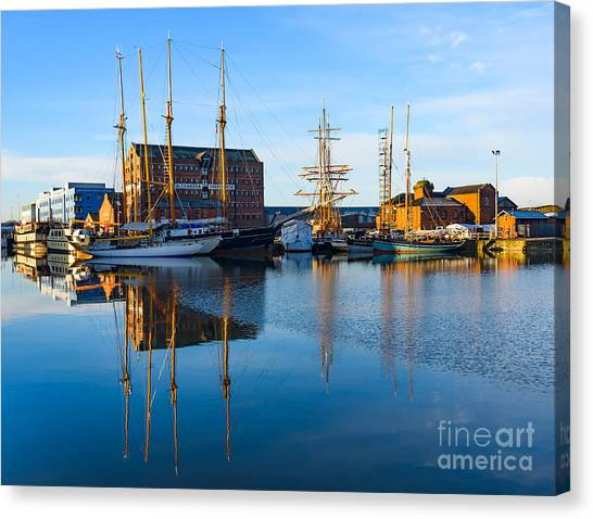 Gloucester Docks Canvas Print