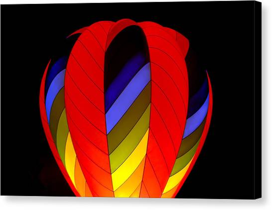 Glow By Night Canvas Print by Gary Smith