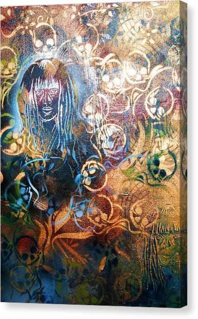 Glow In The Dark Canvas Print by Dorian Williams