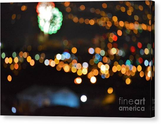 Frieworks Canvas Print - Glow In The Night by Daniel Shearer