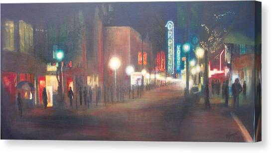 Glow Canvas Print by Victoria Heryet
