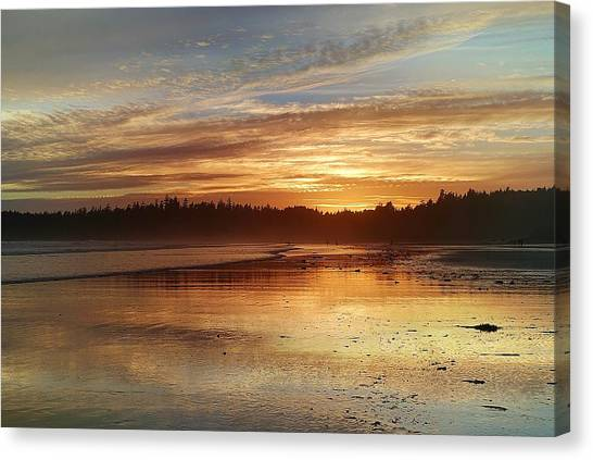 Long Beach I, British Columbia Canvas Print