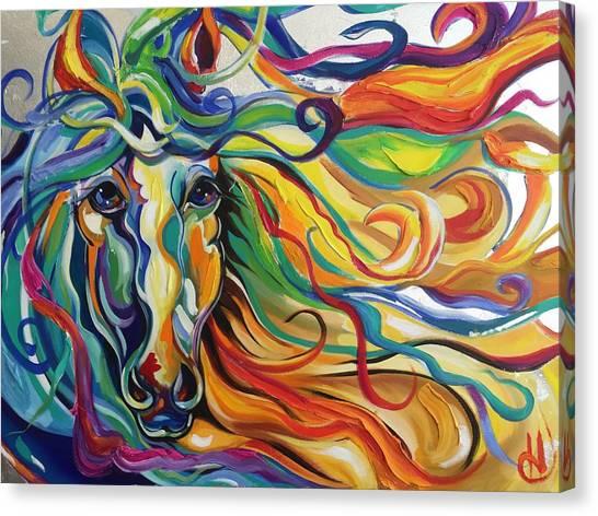Glyde  Canvas Print