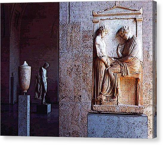 Glyptotek Museum 1 Canvas Print