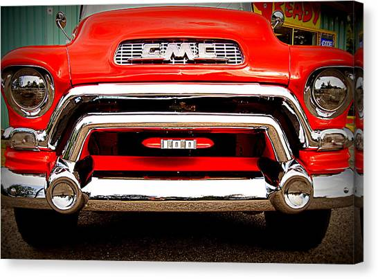 Gmc Ready Canvas Print