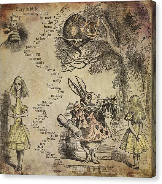 Go Ask Alice Canvas Print