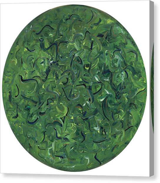 Go Green Canvas Print by Patty Vicknair