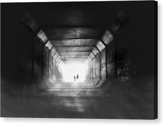 Tunnels Canvas Print - Go Home by Stefan Eisele