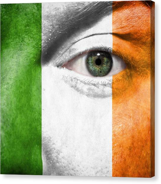 Red Eye Canvas Print - Go Ireland by Semmick Photo