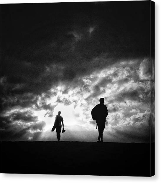 Shapes Canvas Print - Go To The Light!  #people #sky by Rafa Rivas