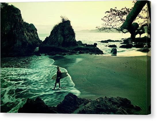 Canvas Print featuring the photograph Go Your Own Way by Nik West