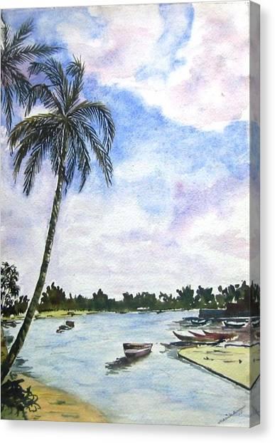 Goa Canvas Print by Monika Deo