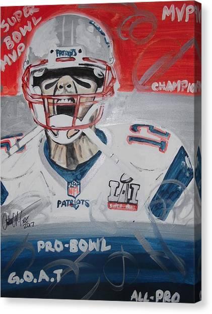 Goat Brady Canvas Print