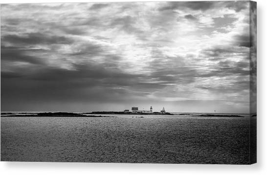 Goat Island Light, Cape Porpoise, Maine Canvas Print