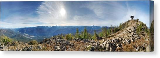 Goat Peak Canvas Print