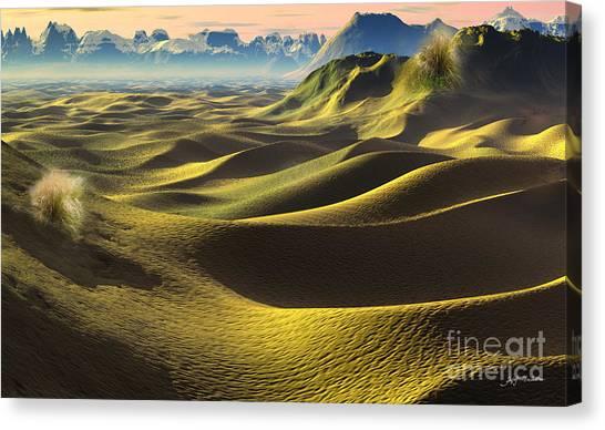 Gobi Desert Canvas Print - Gobi Desert - Dunes Land by Heinz G Mielke