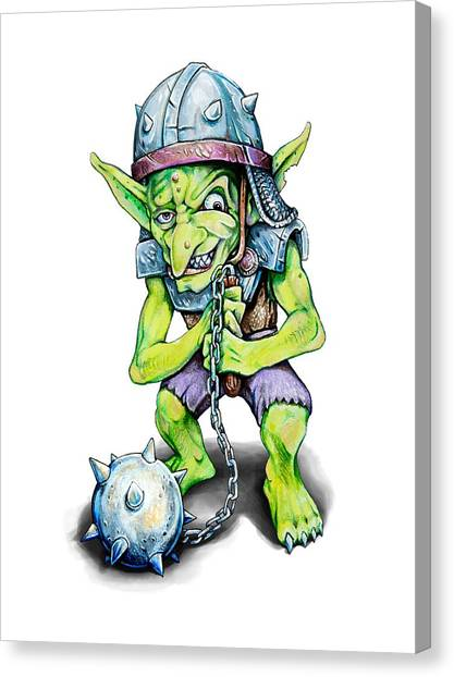 World Of Warcraft Canvas Print - Goblin by Aaron Spong