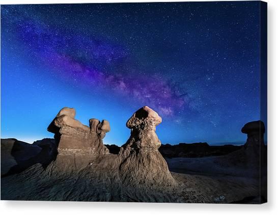 Goblin Milky Way  Canvas Print
