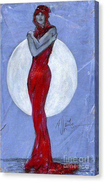 Full Figured Women Canvas Print