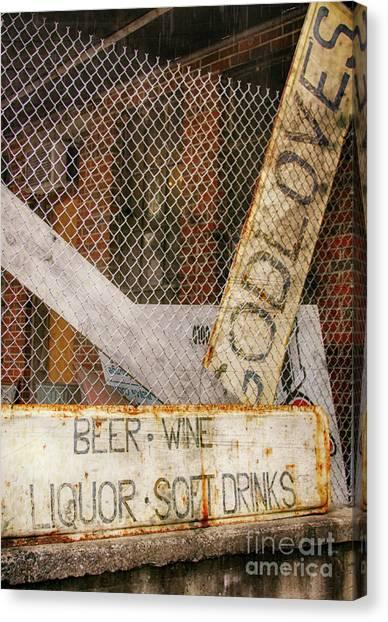 God Loves Beer  Canvas Print by Steven Digman