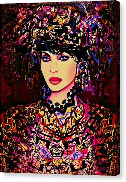 Goddess Of Beauty Canvas Print