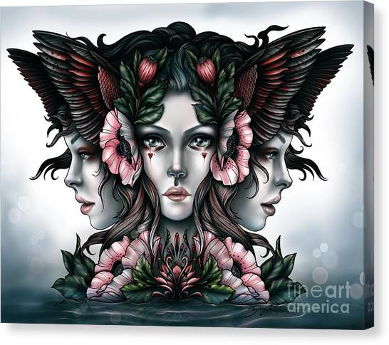 Goddess Of Magic Canvas Print